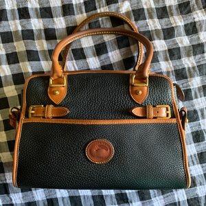 Vintage AWL Dooney & Bourke Buckle satchel